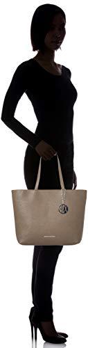 Armani Marrone taupe Borse Exchange Shopping Womans Donna Tote OxPv8Oqw
