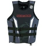 Sea Doo Mens Force Pullover PFD-red/x-large 2858191230