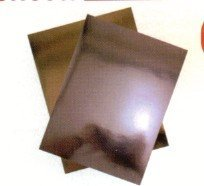 Metallic Foil Cardstock SILVER 8.5x11 - 2Pcs by Hygloss (Image #1)