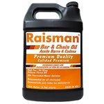 Raisman premium bar & chain oil 1 gallon sae 30