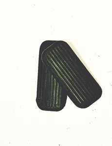 Korsteel 2 Bar Tread Stirrup Pads - Black, 4