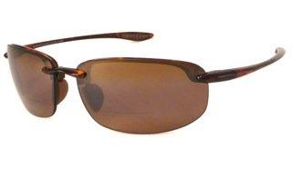 Maui Jim Ho'okipa MauiReaders Sunglasses Tortoise / HCL Bronze +1.5 Add