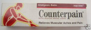 5x Counterpain HOT Cream Muscular Pain 120g From Thailand by Thailand Shopping Online