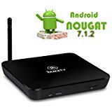 BuzzTV XPL3000 Quad Core Android 4k TV Box and Premium IPTV Streaming Media Player Powered by 7.1.2 nougat 2 GB RAM and 8GB STORAGE 2018 Edition (Onyx Black)