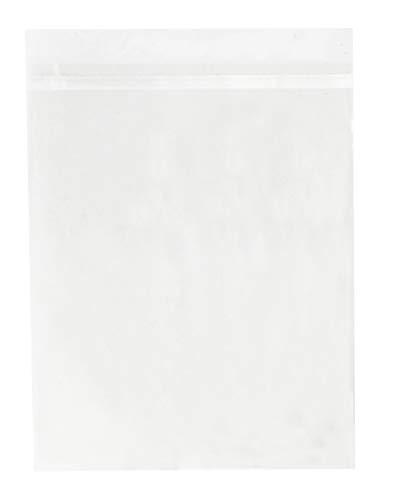 Golden State Art, Pack of 100 11 1/4 x 14 1/8 Clear Bags for 11x14 Mat Matting