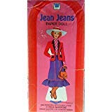 Whitman Jean Jeans Paper Doll