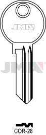 10 X COR-28 Corbin JMA Key Blanks