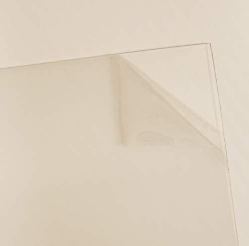 Rustic Decor 10 Sheets 4x6 .040 PETG, Clear Styrene/Plexiglass