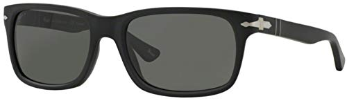 Persol Men's PO3048S - Polarized Black Antique/Grey Polarized (Sunglasses Men Persol)