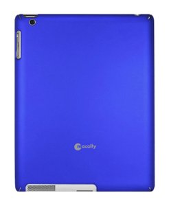 Protective Macally Snap (Macally SNAP2MB Metallic Snap-On Case for iPad 2, Blue)