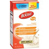 Boost Plus Very Vanilla 8oz Brikpaks 27/Case *** 4 CASE SPECIAL***