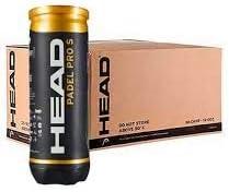 Head Padel Pro S Pack de 3 Botes con 3 pelotas de padel cada uno ...