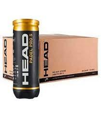 Head Padel Pro S Pack de 3 Botes con 3 pelotas de padel cada uno