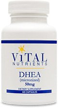 Vital Nutrients - DHEA 50 mg 60 caps