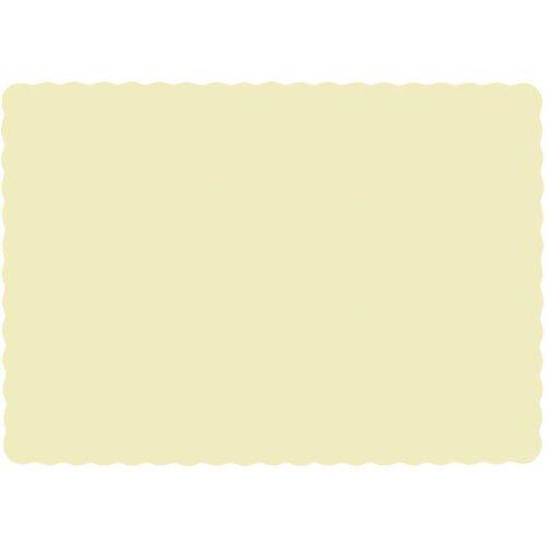 Vanilla Crème Paper Placemats (50ct) (Paper Creme)