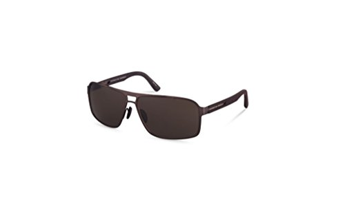 Porsche Design Sunglasses P8562 D Brown / Brown, Metal Frame Men's - Glasses Design Porsche Sun