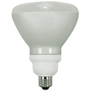 Satco S7242 Reflector Compact Fluorescent Bulb, 23 Watts, Bright White (Pack of 6) ()