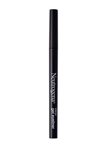 Neutrogena Intense Gel Eyeliner With Antioxidant Vitamin E, Smudge- & Water-resistant Eyeliner Makeup for Precision Application, Jet Black, 0.004 Oz (Best Eyeliner Doesn T Smudge)