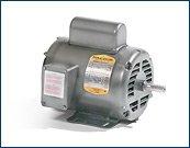 Baldor L1203M General Purpose AC Motor, Single Phase, 48 ...