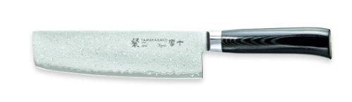 Tamahagane San Kyoto SNK-1165 - 7 inch, 180mm Nakiri Vegetable Knife by Tamahagane