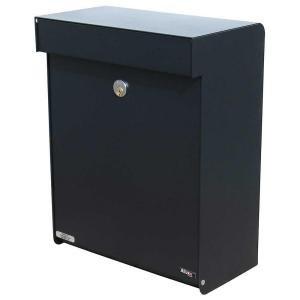 Qualarc ALX -GRM-BK Allux Series MailBoxes Grandform, Black