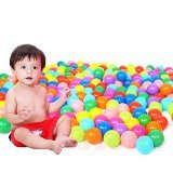 100Pcs Multicolor Baby Kid Child Swim Pit Toy Round Soft Plastic Ocean Ball Random Color