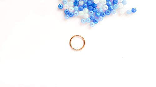 Rose Gold Septum Ring 18g Nose Piercing Jewelry