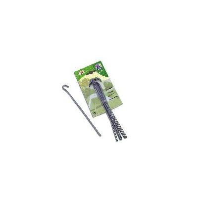 10 Pansements en bande, sardines piquets de sol universel pour parasol ou autres tente - 20 cm