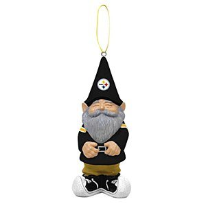 Pittsburgh Steelers Gnome Christmas Ornament