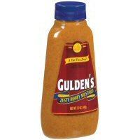 Gulden's 100 % Natural Zesty Honey Mustard - 12 oz Squeeze Bottle (1 Each)