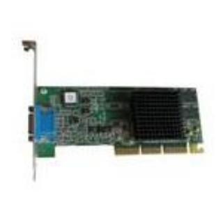 16M AGP Video Card: ATI Rage 128 Ultra VGA FULL HEIGHT