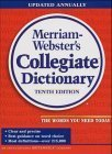 Webster's Ninth New Collegiate Dictionary, Merriam-Webster, Inc. Staff, 0877795096