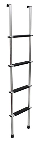 Quick Products QP-LA-466S RV Bunk Ladder, 66' - Silver