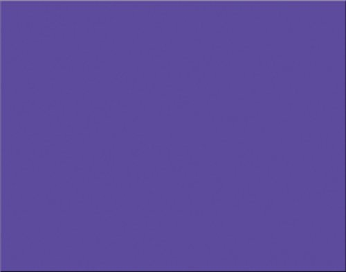 Peacock 6-Ply Railroad Board, 22''X28'', Purple, 25 Sheets by Pacon
