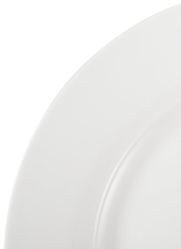 Тарелка AmazonBasics 6-Piece Dinner Plate