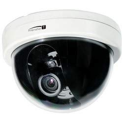 SPECO CVC6246TW Dome Camera, NTSC, WDR, Day/Night, Indoor, 2000 x 1121 Resolution, Auto Iris/Varifocal 2.8 to 12 MM Lens, 24 Volt AC/12 Volt DC, White
