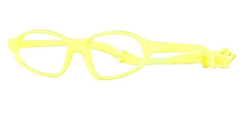 Miraflex Nick 52 Adult Eye Glass Frames | 52/19 | Yellow - Eyewear Eyeglasses Miraflex