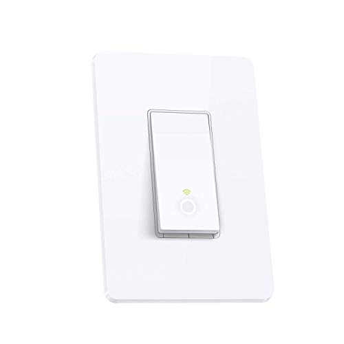 TP-LINK HS200P3 Kasa Smart WiFi Switch (3-Pack) Control Lighting from Anywhere, Easy in-Wall Installation (Single-Pole Only), No Hub Required, Works with Alexa and Google Assistant, White by TP-LINK (Image #1)