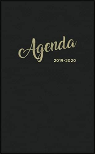 Agenda 2019-2020: Two-Year Monthly Pocket Planner | Phone ...