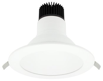 American Lighting 25W Epiq Mag 4 LED Downlight, 3000K Color Temp, 6'', White by American Lighting