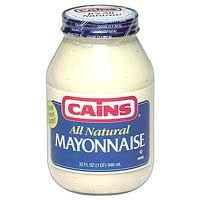 - Cains Mayonnaise All Natural, 30 Fluid Ounce