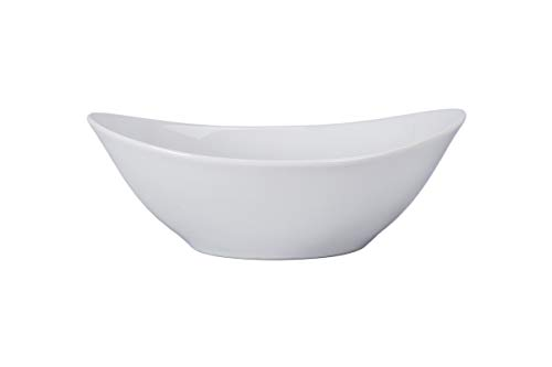 (B.I.A Contessa Collection - Bowl - White - 75 oz (2.4 Qt), Set of 2)