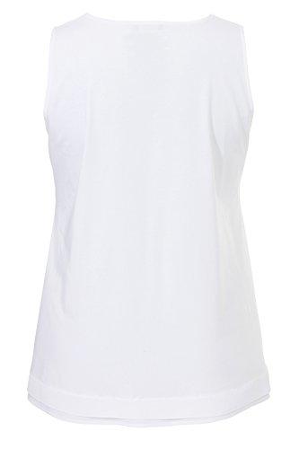 Frapp - Camiseta sin mangas - para mujer blanco