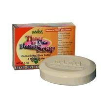 MADINA 3 in 1 Butter Soap, 1 Pound