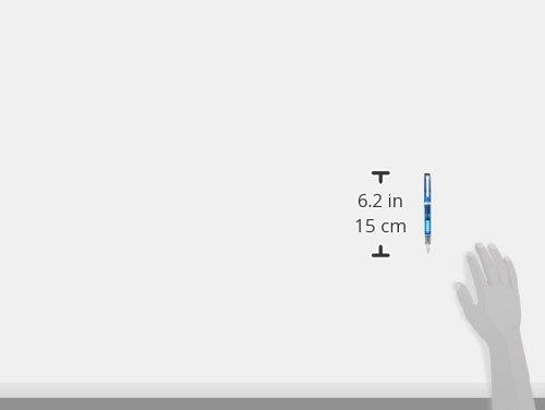 Pilot Fountain Pen Custom Heritage 92, Transparent Blue Body, FM-Nib (FKVH-15SRS-TL-FM) by Pilot (Image #4)