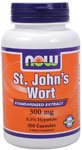 St. John's Wort by NOW Foods - (300mg - 250 Capsules)