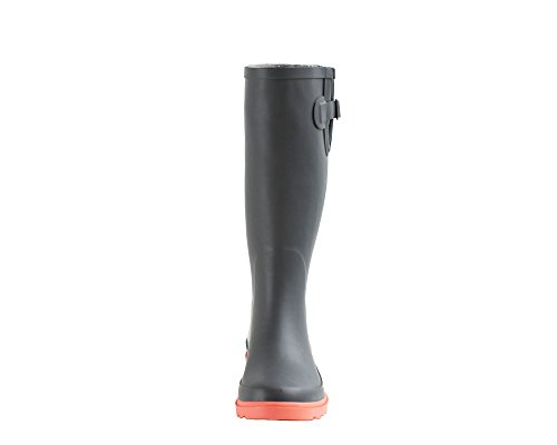 Ankle Boots Gray Rubber Rain Women's Coral Wellies Oakiwear Boot Noxon OAKI qpgYYF