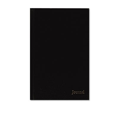 Professional Business Journal with Planning Pages, 160 Pages, 8 x 5, Black, Sold as 1 Each
