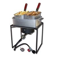 King Kooker Welded Rectangular Portable Outdoor Cooker by King Kooker