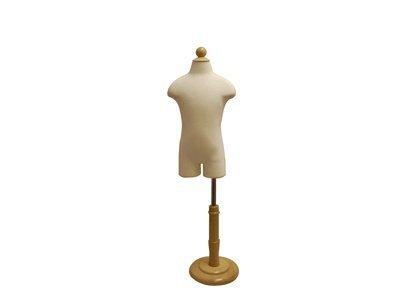 Children Mannequin 6 - 8 years old store display dress form with partial legs LaModelDisplay